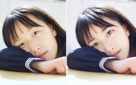Loạt ảnh trước và sau photoshop của các cô gái xinh trên mạng: Không thể tin đây là cùng một người!