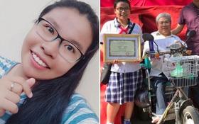 Ba bại liệt, mẹ phụ người thân bán hàng - Con gái xuất sắc đỗ thủ khoa kỳ thi vào lớp 10 ở TP.HCM
