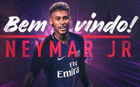CHÍNH THỨC: Neymar hoàn tất bản hợp đồng siêu kỷ lục với PSG