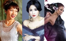 """Trước Trần Thu Hà, nhiều Diva lẫn giọng ca đẳng cấp cũng từng hát nhạc được """"số đông yêu thích"""""""