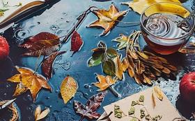 Bộ ảnh tĩnh vật mùa thu tuyệt đẹp dưới ống kính của nữ nhiếp ảnh gia người Nga