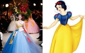 """2017 rồi, các công chúa Disney phải diện đầm Haute Couture mới """"chất chơi""""!"""