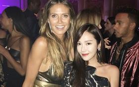 Cùng trong một khung hình, Jessica bị siêu mẫu U50 Heidi Klum dìm vì càng ngày càng nhàm chán