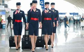 Người hiểu biết chỉ nhìn trang phục cũng biết là tiếp viên hàng không nước nào