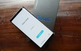 Trên tay nhanh Galaxy Note8 Đen Huyền Bí chính hãng: Đẹp không từ ngữ nào tả xiết!