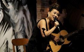 """Thảo Trang bất ngờ hát """"Duyên phận"""" trong đêm nhạc đánh dấu sự trở lại sau khi sinh con"""