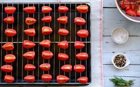 Mùa cà chua rộ mà không làm cà chua sấy thì quá phí