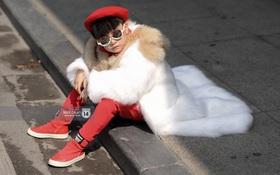 Fashionisto nhí diện áo lông to sụ như G-Dragon, nổi bật nhất street style ngày cuối VIFW
