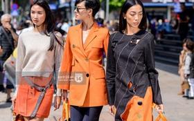 """Street style ngày 2 VIFW: Dàn mẫu danh tiếng nhập cuộc, giới trẻ Hà thành thi nhau khoe phong cách """"dị"""" cùng loạt màu tóc nổi bần bật"""