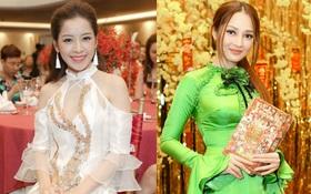 Dàn sao Việt xúng xính áo dài dự họp báo ra mắt DVD nhạc Tết
