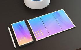 """Nếu điện thoại gập của Samsung đẹp như thế này, có lẽ Apple cũng phải """"khóc ròng"""""""