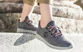 Giày nỉ siêu nhẹ không cần đi tất vẫn không bị hôi chân