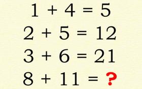 Tìm được đáp án chính xác cho câu đố logic phép cộng này, chắc chắn bạn phải có IQ trên 130