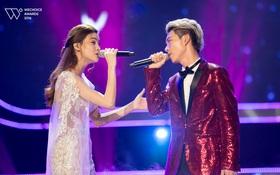 Gala WeChoice Awards: Hồ Ngọc Hà, Erik trình diễn vô cùng cảm xúc khi hoán đổi hit cho nhau