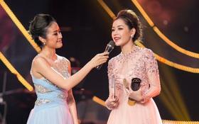WeChoice Awards 2016: Chi Pu bật khóc nhận giải nghệ sĩ trẻ đột phá