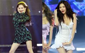 2 biểu tượng sexy bất ngờ đụng độ: Sunmi chân dài miên man hay Hyuna khoe vòng 1 gợi cảm trội hơn?