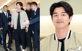 """""""Yêu tinh"""" Gong Yoo xuất hiện hiếm hoi, được dàn vệ sĩ bảo vệ tại sự kiện"""