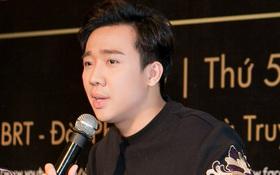 Bệnh nặng phải vào bệnh viện xét nghiệm, Trấn Thành vẫn tươi tắn tại họp báo TV Show riêng của mình