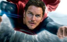Chris Pratt cảm thấy hạnh phúc vì đã mất cơ hội trở thành Superman
