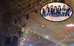 Show diễn của T-ara tại Việt Nam bất ngờ phải tạm ngưng vì cháy