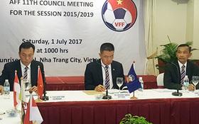 AFF kiến nghị lên AFC về cách bốc thăm ở SEA Games 2017