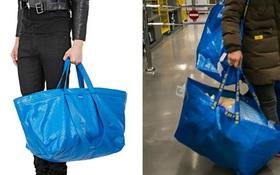 """Thấy Balenciaga bán túi 50 triệu y chang túi 22 nghìn của mình, IKEA đã có màn đáp trả """"chất"""" như thế này đây!"""