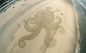 Ngắm những bức tranh cát ấn tượng trải dài trên bãi biển