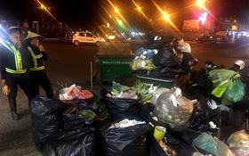 """Nhắc nhở người bán hàng, cô lao công ở Đà Lạt nhận lại câu nói: """"Không xả rác thì lấy việc đâu các cô làm!"""""""