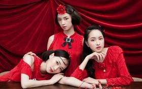 3 nàng hot girl Salim, Sun HT, Lê Vi xinh lạ trong những mẫu áo dài cách tân độc đáo