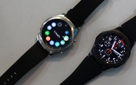 Ngắm nhan sắc đồng hồ thông minh Samsung Gear S3 vừa được giới thiệu tại Việt Nam