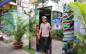 Cận cảnh nhà vệ sinh miễn phí vận hành bằng năng lượng mặt trời đầu tiên ở Sài Gòn