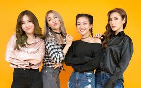 """Lip B: """"Chúng tôi không phải bản sao của Đông Nhi hay nhóm nhạc Kpop nào!"""""""