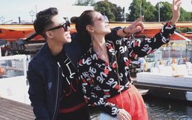 Chi Pu & Hoàng Ku đã đặt chân đến Thụy Điển, khoe street style siêu xinh trước khi thăm thú H&M