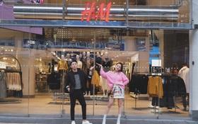 Livestream: Chi Pu và Hoàng Ku tham quan store lớn nhất của H&M tại Thụy Điển