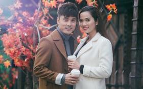 Ưng Hoàng Phúc âu yếm ôm hôn vợ trong MV mới