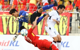 Phí Minh Long bắt bóng như nghiệp dư khiến U22 Việt Nam bị loại khỏi SEA Games 29