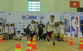 Gần 1000 em nhỏ tham dự hội trại tuyển chọn Jr. NBA 2017 tại thủ đô Hà Nội