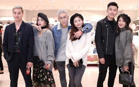 """3 gia đình hot nhất mạng xã hội cùng đến """"mở hàng"""" cho cửa hàng H&M đầu tiên tại Hà Nội"""