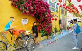 """Nghìn góc ảnh """"sống ảo"""" đẹp miễn chê tại Hội An thu nhỏ giữa lòng Sài Gòn"""