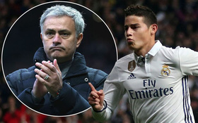 Fan Man Utd nhận tin cực vui từ trai đẹp James Rodriguez