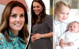 Công nương Kate Middleton đang mang thai lần 3