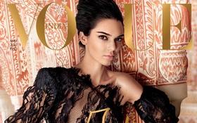 """Vogue Ấn tích đủ """"gạch xây nhà"""" vì chọn Kendall Jenner làm gương mặt trang bìa kỷ niệm 10 năm"""