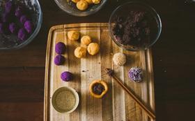 Sử dụng loại củ quen thuộc của Việt Nam để làm món bánh mochi Nhật Bản vừa ngon vừa đẹp