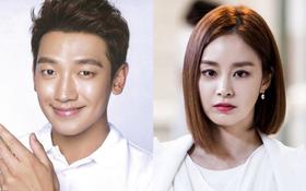 Trôi nổi ảnh có thể là chân dung quý tử và ái nữ nhà Kim Tae Hee và Bi Rain trong tương lai
