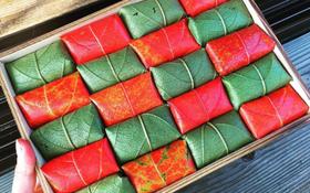 Có 1 loại sushi Nhật Bản gói lá đổi màu tuyệt đẹp, bạn có muốn thử?
