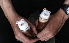 15 tác phẩm tranh vẽ latte khiến hội ghiền cà phê thích mê
