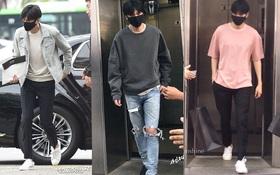 """""""Bạn trai quốc dân"""" Lee Min Ho: đi nhập ngũ mà vẫn mặc đẹp muốn xỉu"""