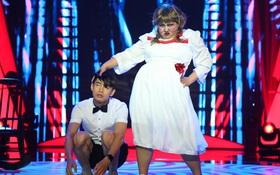 Bước nhảy ngàn cân: Chưa thấy con Annabelle nào nặng gần 90kg mà nhảy bốc như thế này!