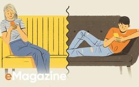 """Khi tình yêu thời nay trục trặc, chúng ta cãi nhau và chia tay bằng tin nhắn, chẳng ai còn chọn cách """"ngồi lại nói thẳng với nhau""""..."""