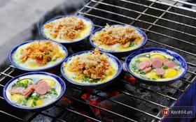 Đi ăn thử quán trứng chén nướng hiếm hoi giữa lòng Hà Nội